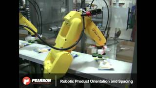 Download Robotic Gantry Top Loader System Case Packs Food Product - Pearson Packaging Systems Video