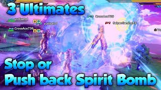 Download Can 3 Ultimates Push Back Spirit Bomb?! - Dragon Ball Xenoverse 2 Video