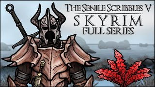 Download The Senile Scribbles: Skyrim Parody - FULL SERIES Video