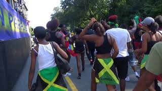 Download JAMAICAN GIRLS WHINE, DANCE AT WEST INDIAN CARNIVAL PARADE 2017 BROOKLYN NEW YORK Video
