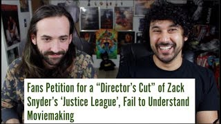 Download JUSTICE LEAGUE - DIRECTOR'S CUT... Should We SIGN The PETITION?!! **Spoilers** Video