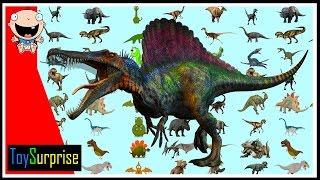 Download 100 dinosaurios! Los números del 1 al 100 en español para niños. Contar hasta 100 con dinosaurios Video