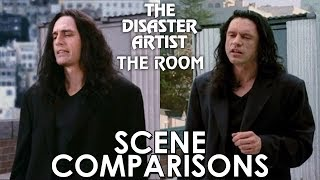 Download The Disaster Artist (2017) and The Room (2003) - scene comparisons Video