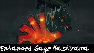 Download NUNS4 - Enhanced Sage Mode Hashirama , Moveset Mod(Story Mode Moves,Rev Moves,ECT) ~ Video