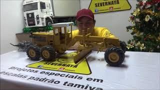 Download PATROLA MOTONIVELADORA GRADER RC BY SEVERNAYA Video