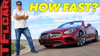 Download How Fast is The Slowest Mercedes-Benz SL? Video
