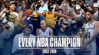 Download Every NBA Champion Since the 2000 Season Video