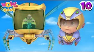 Download Vir: The Robot Boy | Hindi Cartoons For Kids | Action Gags - Part 10 | WowKidz Gags Video