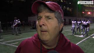 Download Mike Leach after practice Oct. 31 Video