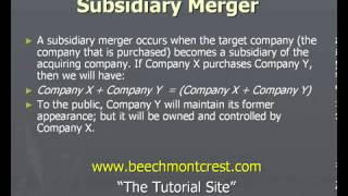 Download Merger Law Associates: Mergers and Acquisitions - Key Concepts Video