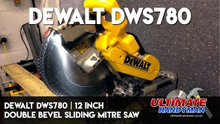 Download Dewalt DWS780 | 12 inch double bevel sliding mitre saw Video