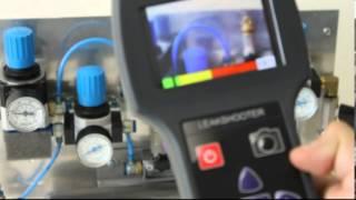 Download Ultrasonic leak detection camera Video