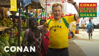 Download Conan Hits The Streets Of Accra - CONAN on TBS Video