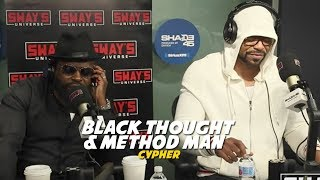 Download Method Man & Black Thought Cypher on Sway in The Morning Video