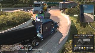 Download American Truck Simulator Multiplayer: Bad Drivers/Crashes Compilation #1 Video
