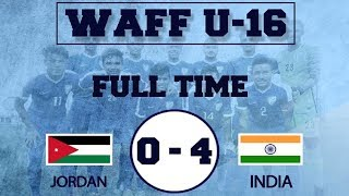 Download India U16 Vs Jordan U16 || 4 - 0 Full Match Extended Highlights || English Commentary in 4K HD Video
