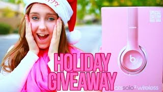 Download HUGE Holiday Giveaway 2016! Gift Cards, Beats Headphones, Perfume, and More! Video