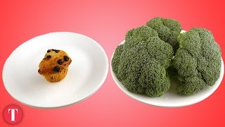 Download This Is What 200 Calories Look Like: Junk vs. Healthy Food Video