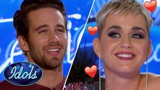 Download KATY PERRY Falls In LOVE With Trevor Holmes On American Idol 2018 | Idols Global Video