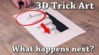 Trick Art Drawing 3d Tiny House On Paper Free Download Video Mp4 3gp