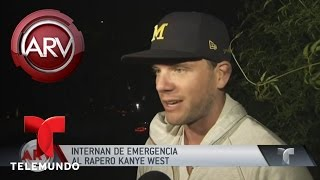 Download Kanye West hospitalizado de emergencia | Al Rojo Vivo | Telemundo Video