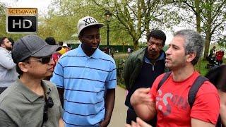 Download P1- Lets Test! Mansur vs Visitor l Speakers Corner l Hyde Park Video