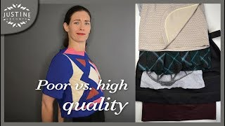 Download How to recognize poor vs. good quality in clothes (in 5 points) | Justine Leconte Video