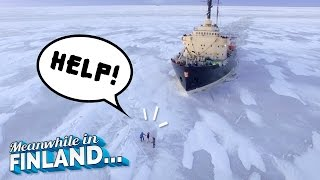 Download Run Over by Icebreaker Ship? - Meanwhile In Finland EP3 Video