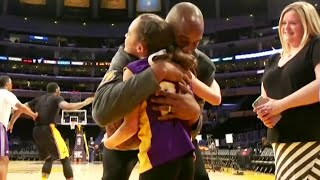 Download Make A Wish - Kobe Bryant Meets A Young Girl With Cerebral Palsy Video
