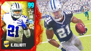 Download Madden 17 Ultimate Team - 99 OVERALL EZEKIEL ELLIOT! MOST VERSATILE BACK IN MADDEN! - MUT 17 Video