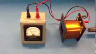 Download Induction Coil with Magnet Galvanometer 5K10 20 Video
