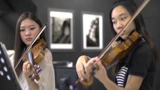 Download Canon in D violin duet Video