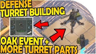 Download DEFENSE TURRET BUILDING + MORE TURRET PARTS - Last Day On Earth Survival 1.7.9 Update Video