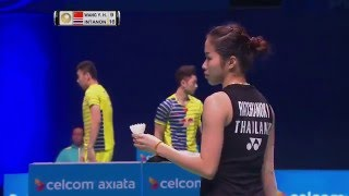 Download Celcom Axiata Malaysia Open 2016 | Badminton SF M2-WS | Wang Yihan vs Ratchanok Intanon Video
