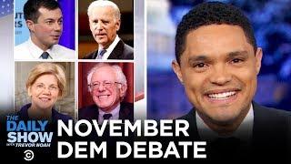 Download 2020 November Democratic Debate in Atlanta | The Daily Show Video