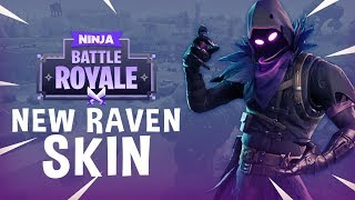 Download New Raven Skin!! - Fortnite Battle Royale Gameplay - Ninja Video