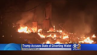 Download Trump's Tweets On CA Wildfires And Water Make No Sense, Say Experts Video