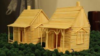 Download Membuat rumah menggunakan tusuk gigi Video