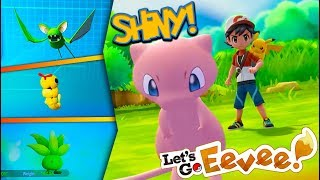Download CATCHING SHINY POKÉMON in Pokémon Lets Go! (Let's Play Episode 3) + HOW TO GET FREE MEW! Video