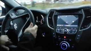 Download 2013 Hyundai Sante Fe 2.0T Limited AWD Test Drive and Acceleration Clips Video