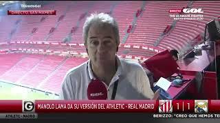 Download Athletic Club 1-1 Real Madrid | Manolo Lama analiza el encuentro Video