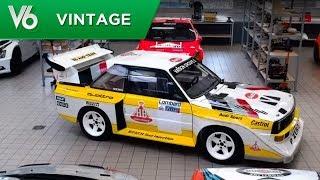 Download Voiture de légende: Audi Quattro S1 - Les essais vintage de V6 Video