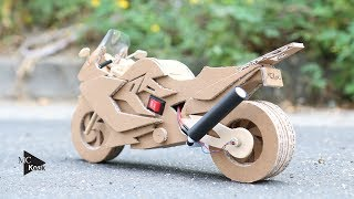 Download How to make Toy Motocycle(BMW F800GT) - Amazing Cardboard DIY Video