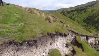Download New Zealand Earthquake - Crazy drone video of the fault rupture Video