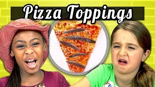 Download KIDS vs. FOOD #5 - PIZZA TOPPINGS Video