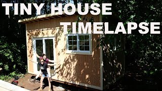 Download Tiny House Build Timelapse Video