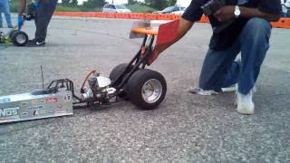 Download 1/4 scale dragster race Nitrostreets Video