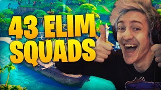 Download 43 Elim Squads! Ft TimTheTatman & Dr Lupo Video