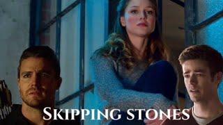 Download Arrow, Flash, Supergirl- Skipping Stones Video
