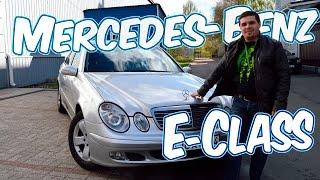 Download Видеообзор Mercedes Benz E class w211 2002 год 2.2 л cdi видеообзор кузова Video